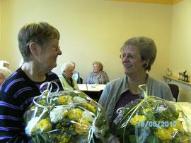 Gerda Wassyl und Brigitte Hendriks