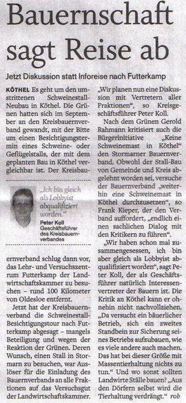 Stormarner Tageblatt 03.12.2010