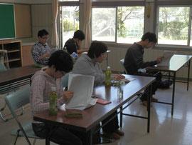 朴木小学校跡 校舎の教室