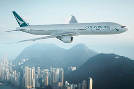 Cathay Pacific Flugzeug