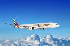 Emirates Flugzeug