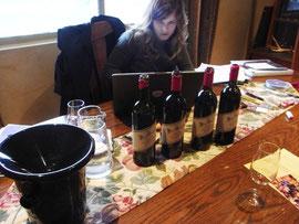キュートなクリスティーナ。日本酒好きです。