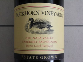 Duckhorn Cabernet Sauvignon Rector Creek Vineyard