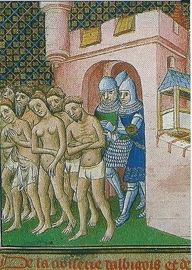 l'expulsion des albigeois de Carcassonne en 1209