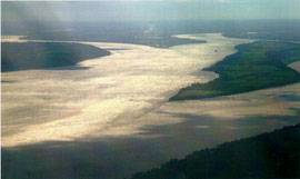 avec 75 km de long, jusqu'à 12 km de large et 635 km², l'estuaire de la Gironde est le plus vaste d'Europe, encore sauvage et préservé