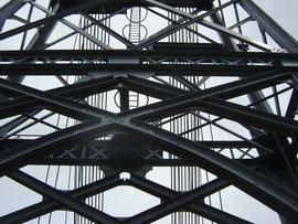 détail du pont suspendu Gisclard
