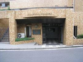 改修前のマンションの入口