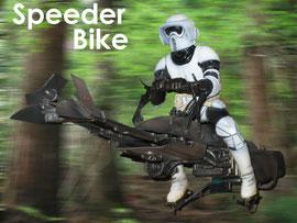 映画スターウォーズで登場したホバーバイク  こんなのが生まれれば正に革命でしょう