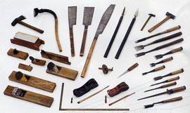 大工の道具 最近は電動工具が普通ですが
