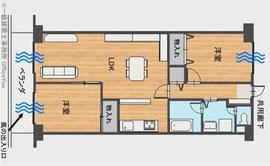 一般的なマンションは風通しが悪く設計されています