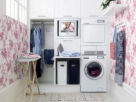かわいくておしゃれなアメリカのloundry room
