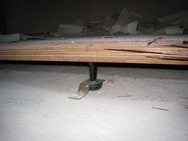 15cmしかなかった床下