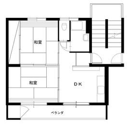団地の調査では、高齢者はDKと南側和室だけで生活していました