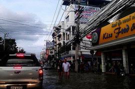 9月に起きたタイの洪水の様子 Photo: anothersaab / CC