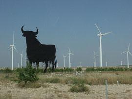 約30%のうち、風力発電が16%、太陽光発電4%のスペイン  Photo by rogiro