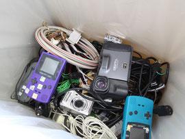 これまでは主に埋め立てられていた小型家電が資源になる