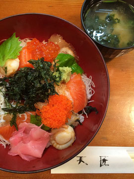 熱海・天匠の海鮮丼