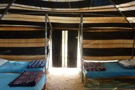 Tent Paradis camp