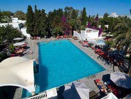 Pool Les Orangers Beach Resort