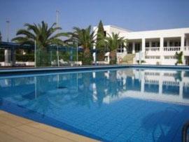 Piscine Hôtel Mouradi Club Selima
