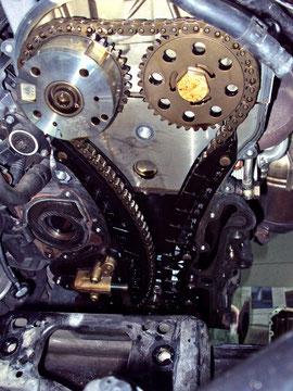 Cadena de distribución motor TSI de volkswagen
