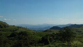 平尾台から英彦山方面