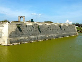 Bild: Holländisches Fort in Jaffna