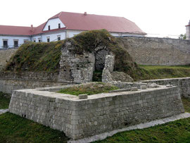 Відновлення бастії замку