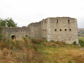 Мури замку та східна вежа