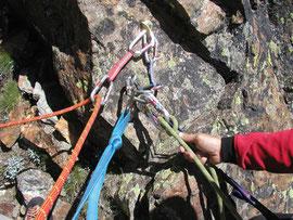 Cordes emmêlées en alpinisme
