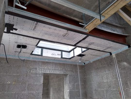 air tightness membrane for flat roof areas