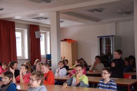Die Mitschülerinnen und Mitschüler als Publikum