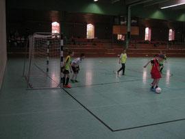 Aktion aus einem Fußballspiel