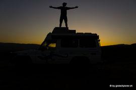 Übernachtungsplatz in Boysun vor der Grenze