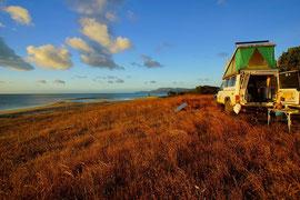 Campieren am Cape Melville