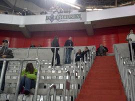 Premiere in der ESPRIT-Arena