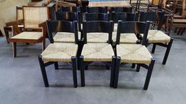 Rempaillage de chaise Méribel de C.PERRIAND