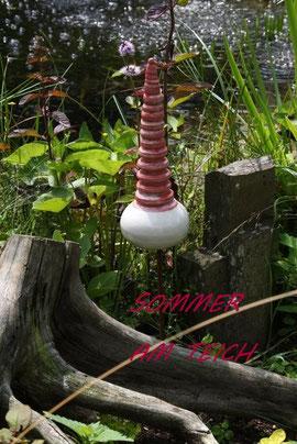 Extrem gedrehte Spitze aus Keramik