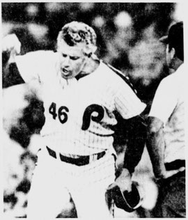 Dallas Green was ejected in the sixth inning.