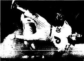 Mike Schmidt gets tangled up with Mets second baseman Doug Flynn.