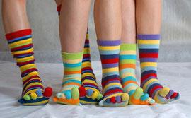 Bienvenue au mariage de chaussettes !