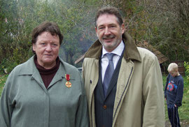 B. Weise mit OB Jann Jakobs (Foto: Kreft)