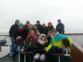 Unsere Truppe! Mit 17 Kindern und Jugendlichen sind wir zur Nordsee gefahren