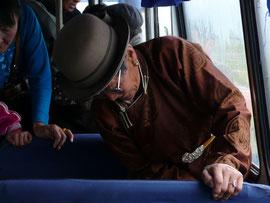La Mongolie en transport locaux