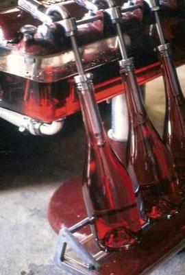 bouteilles vins fruits