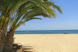 Strand bei Gandia - an der Costa de Valencia, Foto: Birgitta Kuhlmey