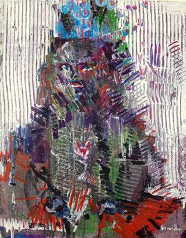 Carolin Wendel Der kleine Schock 2013 50 x 60 cm acrylic on canvas
