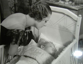 as Mary Brown-Porter with baby Pauline Stevens