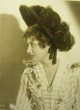 Irene as Sabra - and another hat...