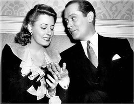 on the set of UNFINISHED BUSINESS with Robert Montgomery